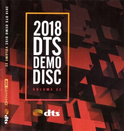 2018 DTS Demo Disc Vol.22 (4K UHD)