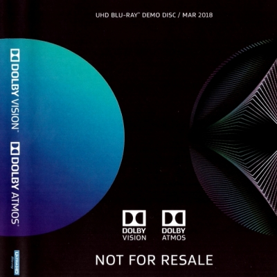 Dolby UHD Blu-Ray Demo Disc (March 2018) [Dolby-Demo]