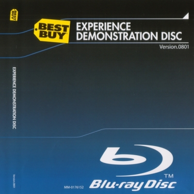 Best Buy Experience Demonstration Disc Blu-ray