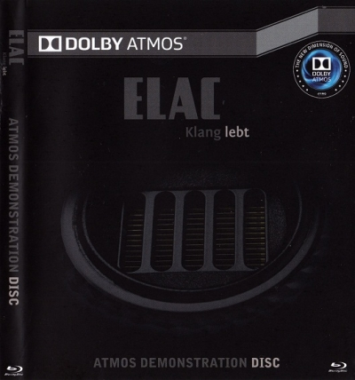 ELAC DOLBY ATMOS Demonstration Disc Blu-Ray