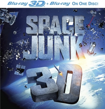 IMAX Space Junk 3D + 2D Blu-Ray Disc
