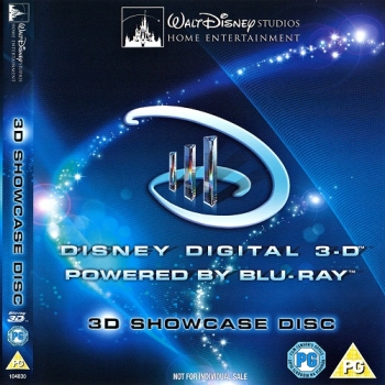 Disney Blu-Ray 3D Showcase Disc