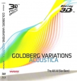 Goldberg variations acoustica AIX 3D Blu-ray Disc
