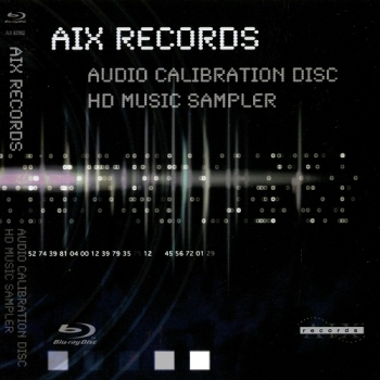 AIX Records Audio Calibration Disc HD Music Sampler
