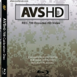 AVS HD 709 Blu-ray Disc Calibration Patterns