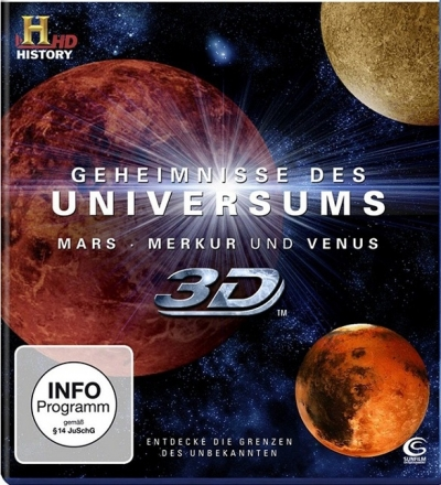 Secrets of the Universe Special Edition 2D+3D Blu-ray Disc