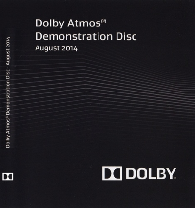 Dolby Atmos Demonstration Disc (August 2014)