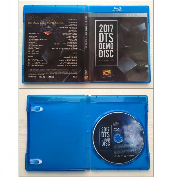 2017 DTS Blu-Ray Demo Disc Vol 21|DTS-DEMO|DTS Demo Discs