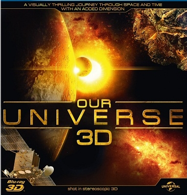 Our Universe 3D Blu-ray Disc