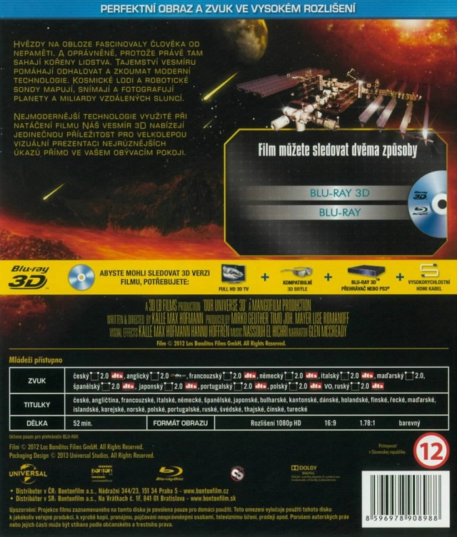 Our Universe 3D Blu-ray Disc|Other Discs