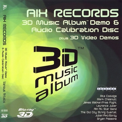 AIX 3D Music Album Demo and Audio Calibration Disc