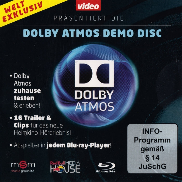 Dolby Atmos Blu-Ray Demo Disc(Video Edition)|Dolby-Demo