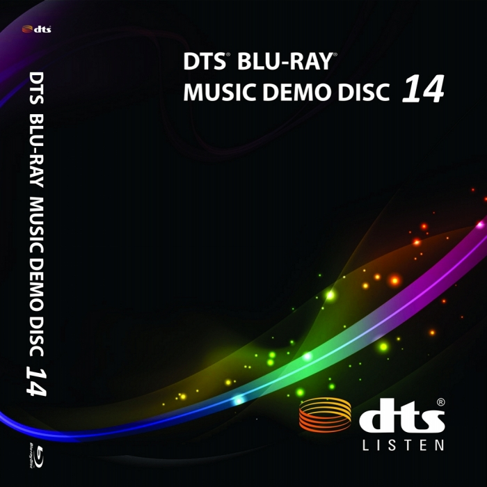 DTS BLU-RAY MUSIC DEMO DISC 14|DTS-DEMO|DTS Demo Discs